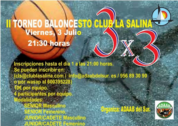II TORNEO DE BALONCESTO 3X3