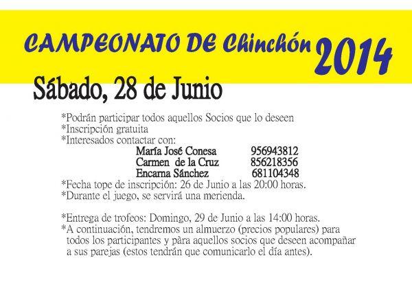 CAMPEONATO CHINCHON