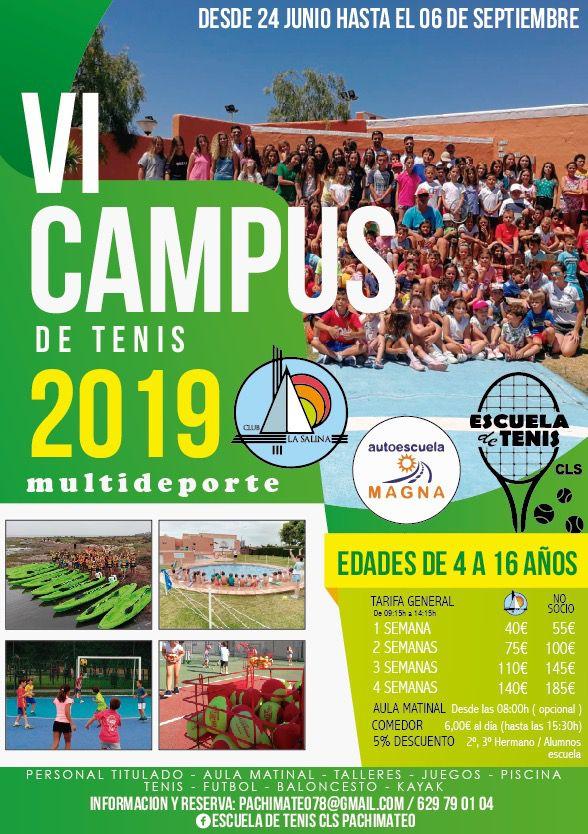 CAMPUES DE TENIS 2019
