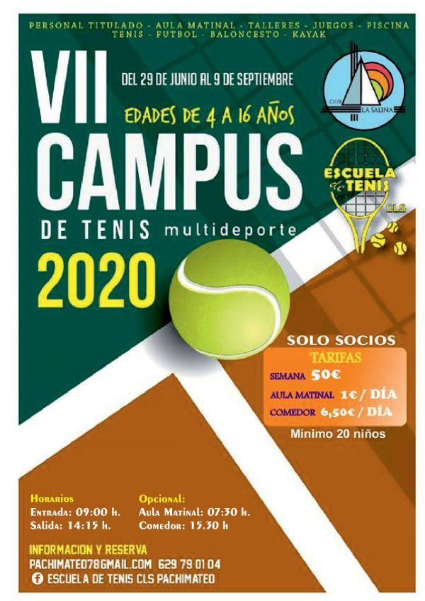 CAMPUS DE TENIS  2020
