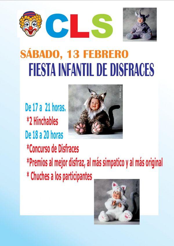 FIESTA INFANTIL DISFRACES