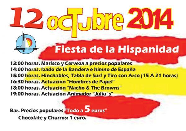 12 DE OCTUBRE. DÍA DE LA HISPANIDAD
