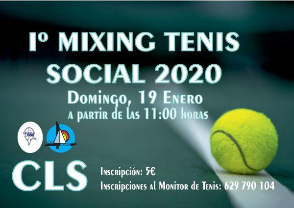 1º MIXING TENIS 2020