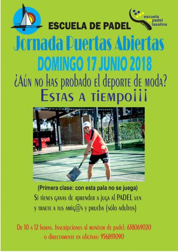 JORNADA ESCUELA DE PADEL