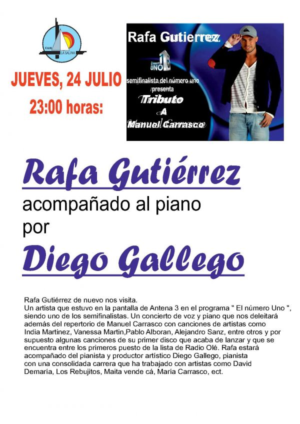 ACTUACION RAFA GUTIERREZ