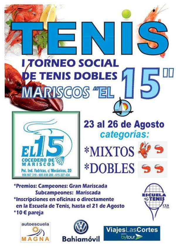 TORNEO SOCIAL TENIS DOBLES
