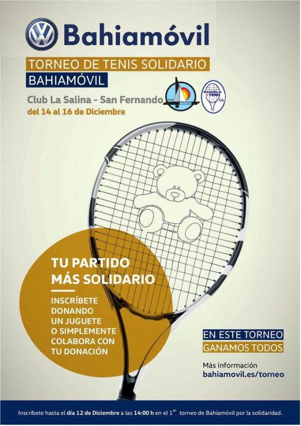 TORNEO TENIS SOLIDARIO BAHIAMOVIL CLUB LA SALINA