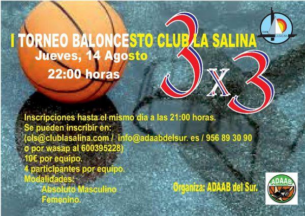 TORNEO BALONCESTO 3X3