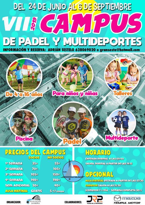 CAMPUS DE PADEL 2019