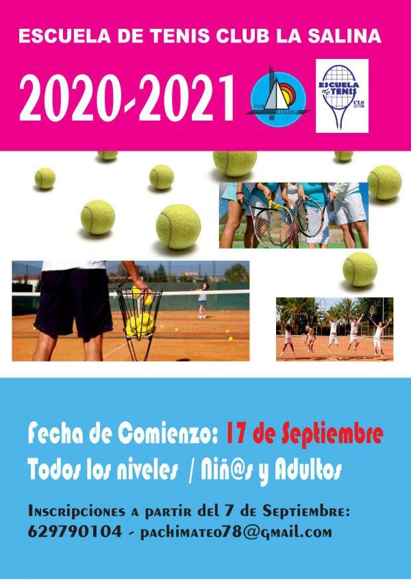 ESCUELA DE TENIS 2020-2021