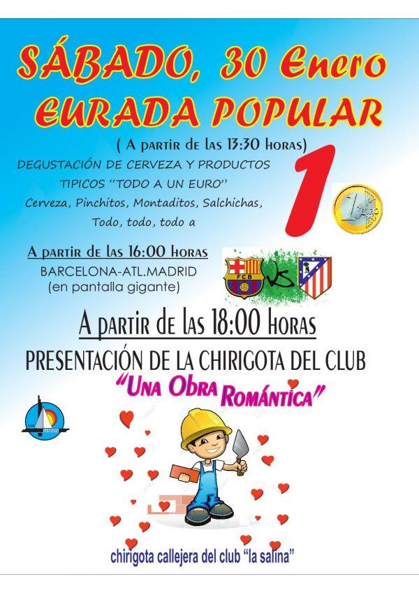PRESENTACIÓN CHIRIGOTA DEL CLUB