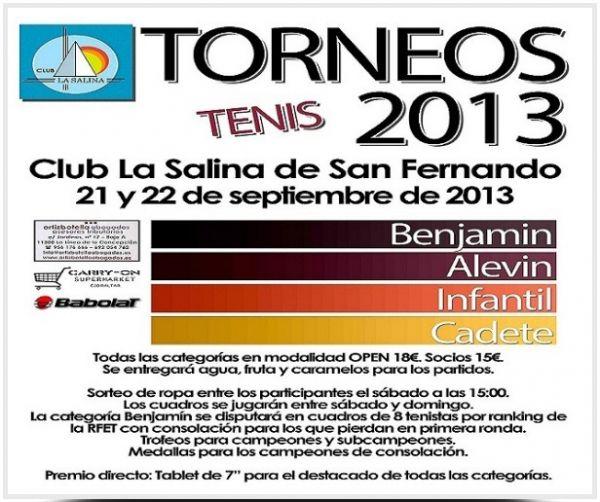 TORNEO DE TENIS