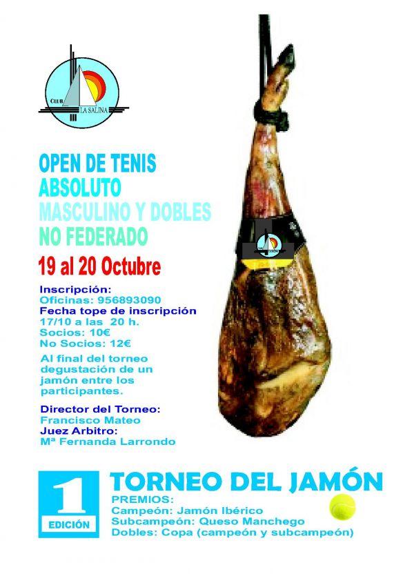OPEN DE TENIS. TROFEO DEL JAMON