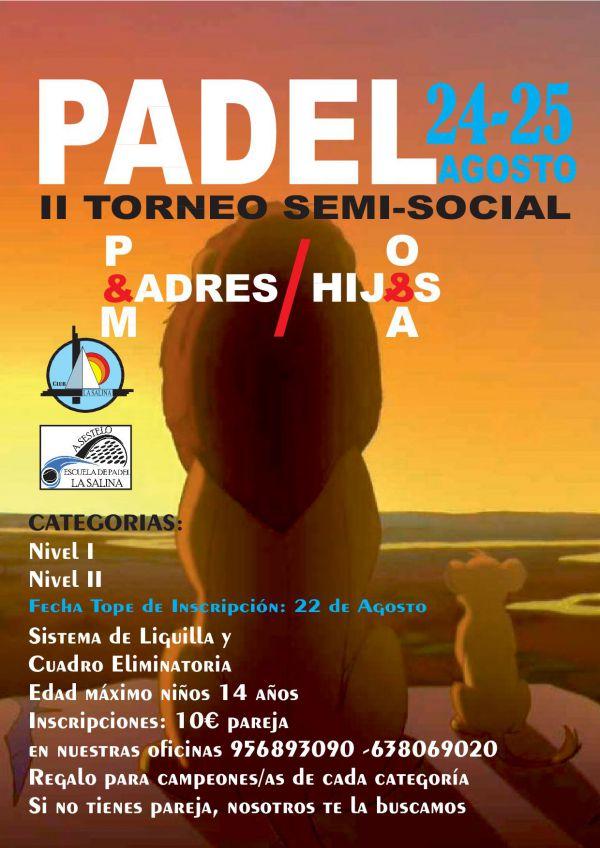 TORNEO SOCIAL PADEL